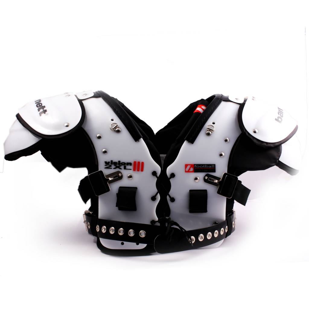 VISION III Football shoulder pad, HB-FB-LB-TE