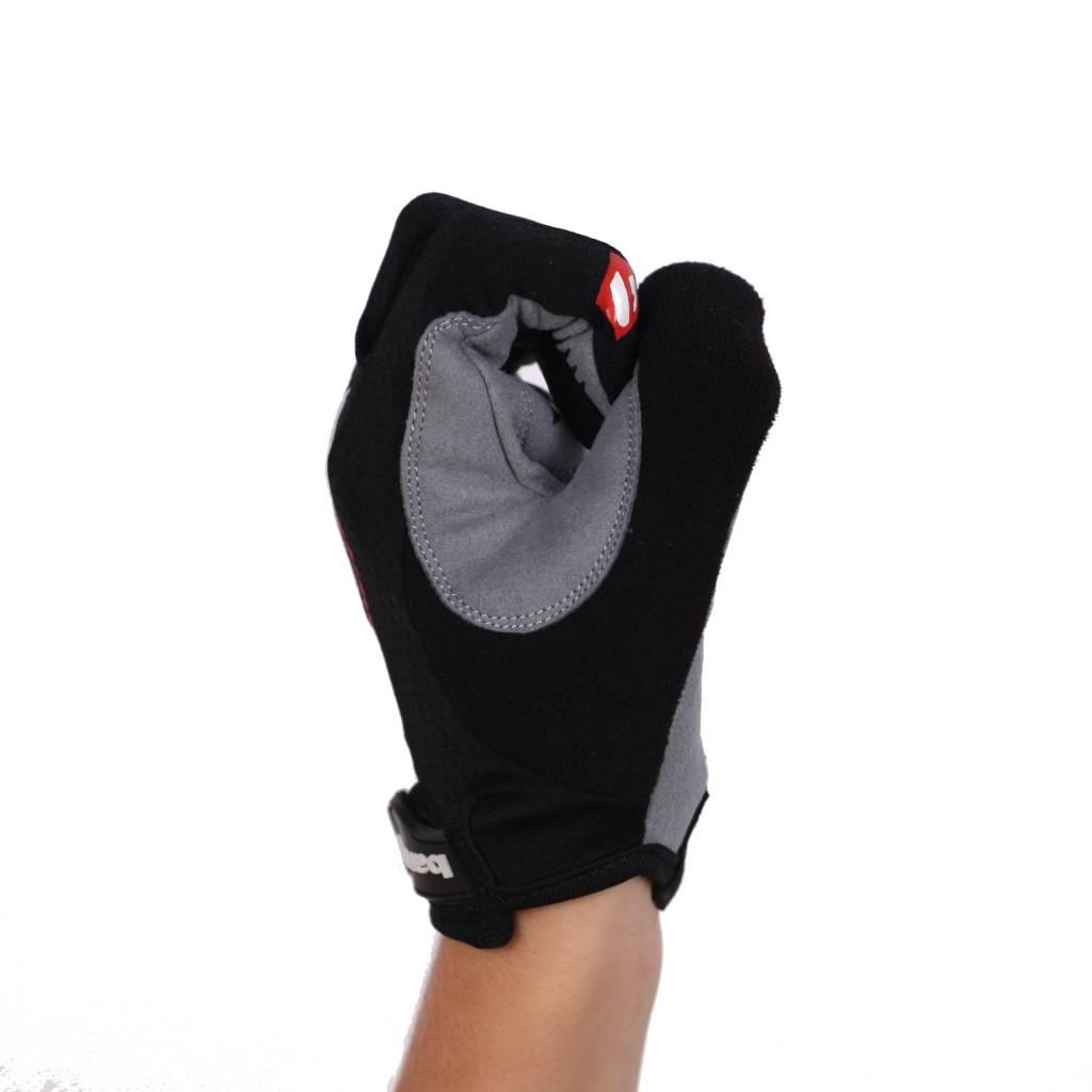 BG-01 Long bike gloves: Light, isolating, high-performance, Black