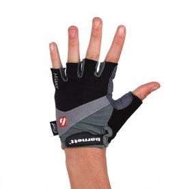 BG-06 Half finger bike gloves, competition, black