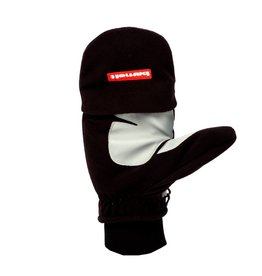 NBG-02 gants de ski moufle retractable, Noir