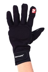 FLG-01 Football glove, Linemen, With grip, Black