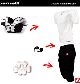 barnett Pack Receiver Football set