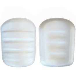 FTP-03 Protections football américain, cuisses, taille unique, blanc