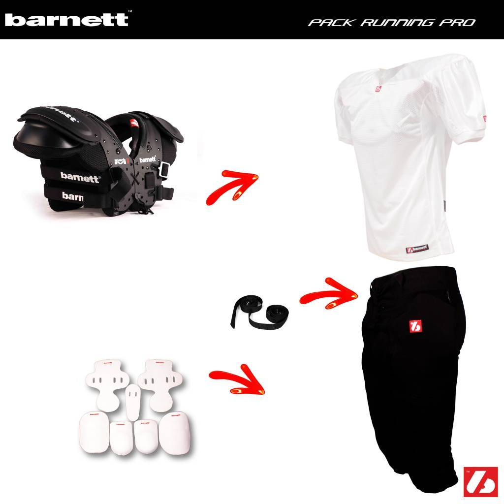 barnett Pack Running Football set 03b8f689295f5
