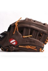 "GL-130 Competition baseball glove, genuine leather, outfield 13"", Brown"