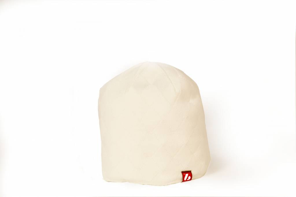 ANTON bonnet noir blanc