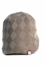 ANTON Winter Beanie Head Cap, grey