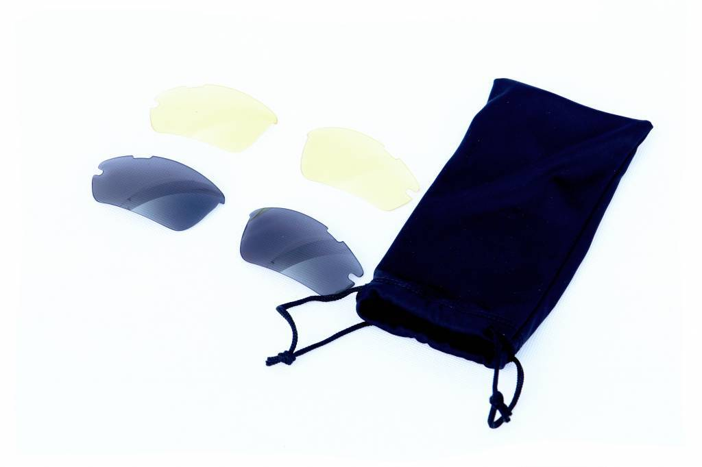 GLASS-1 Lunettes de soleil sport noires