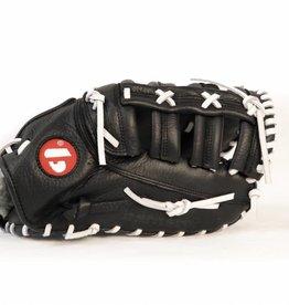 Barnett GL-301 gant de baseball cuir de 1er base pour adulte, Noir