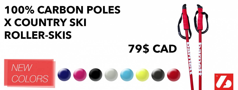 100% carbon poles