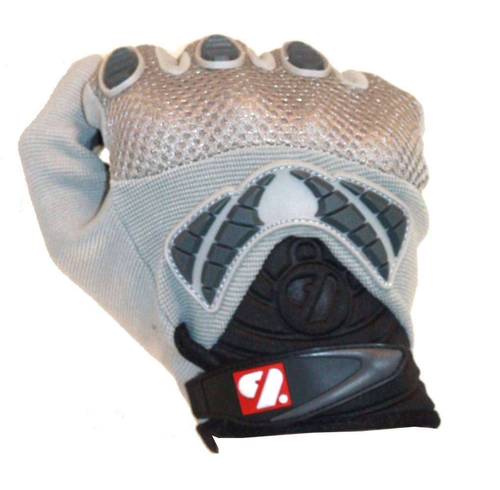 FRG-02 New generation receiver football gloves, RE,DB,RB, grey