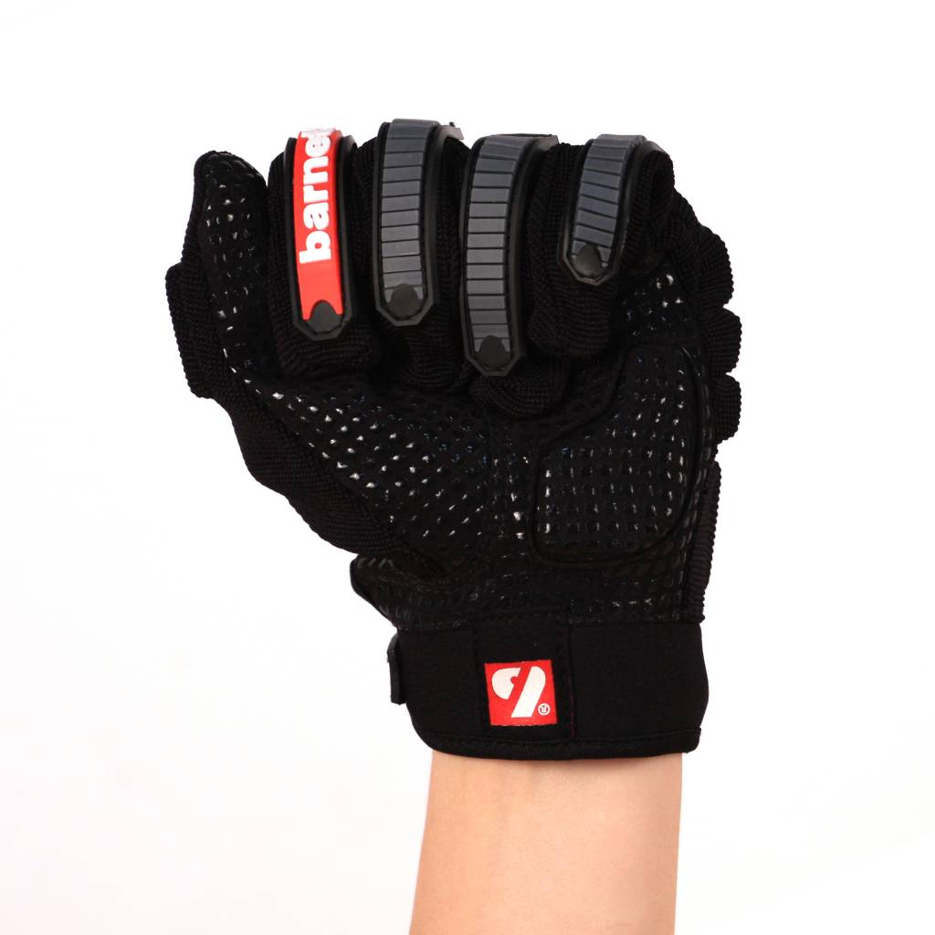 barnett FLG-02 New generation linemen football gloves, OL,DL, black