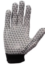 FLGL-02 New generation linebacker football gloves, RE,DB,RB, grey