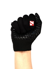 FLGL-02 New generation linebacker football gloves, RE,DB,RB, black