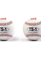 "TS-1 Practice baseballs size 9"", White, 2 pieces"