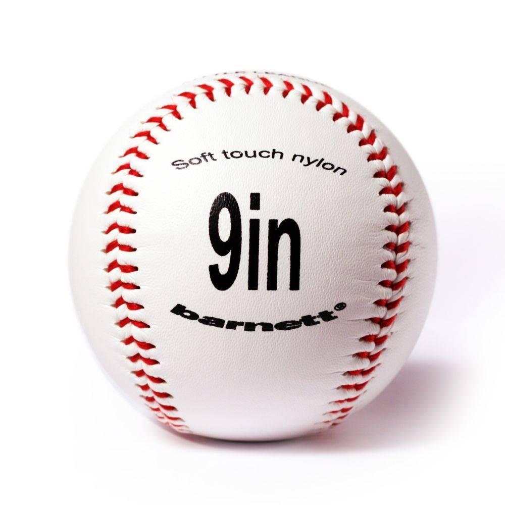 "BS-1 Baseboll Boll Träning Nybörjare, 9"" (inch), Vit, 2 st"