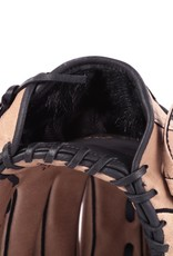 "SL-120 Baseball gloves in leather infield/outfield, size 12"", brown"