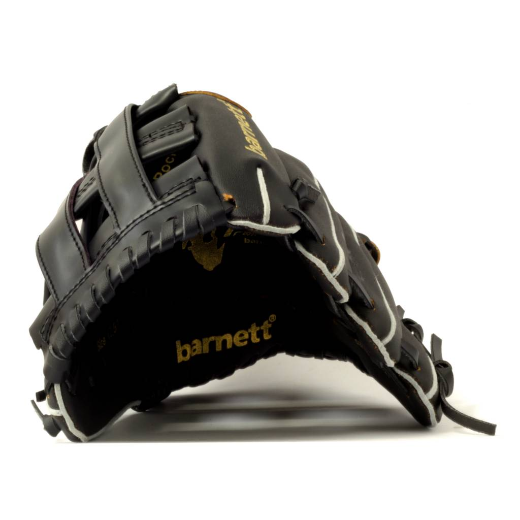 "JL-125 Vinyl baseball glove, Outfield, size 12,5"", Black"