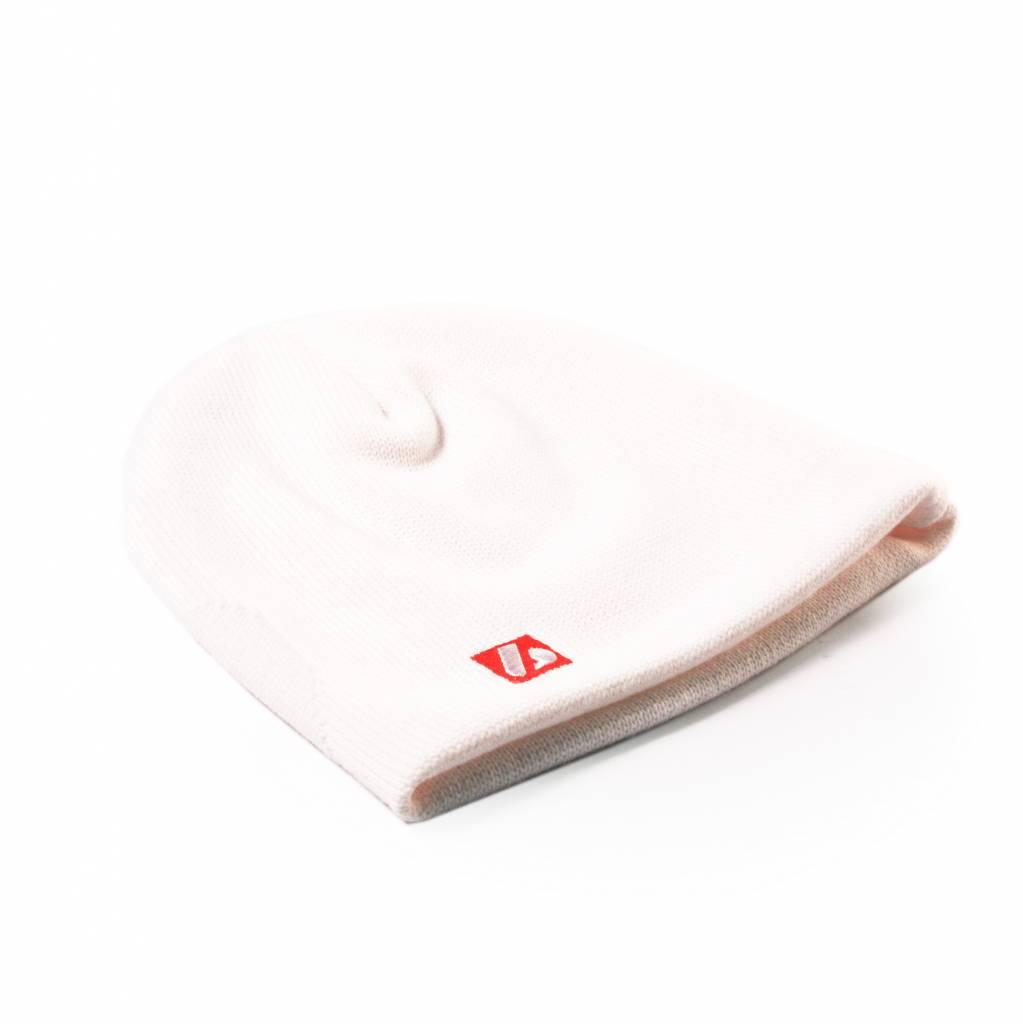 barnett STEFAN Winter Beanie Head Cap, White