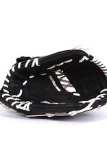 barnett GL-125 Competition baseball glove, genuine leather, outfield 12.5', Black