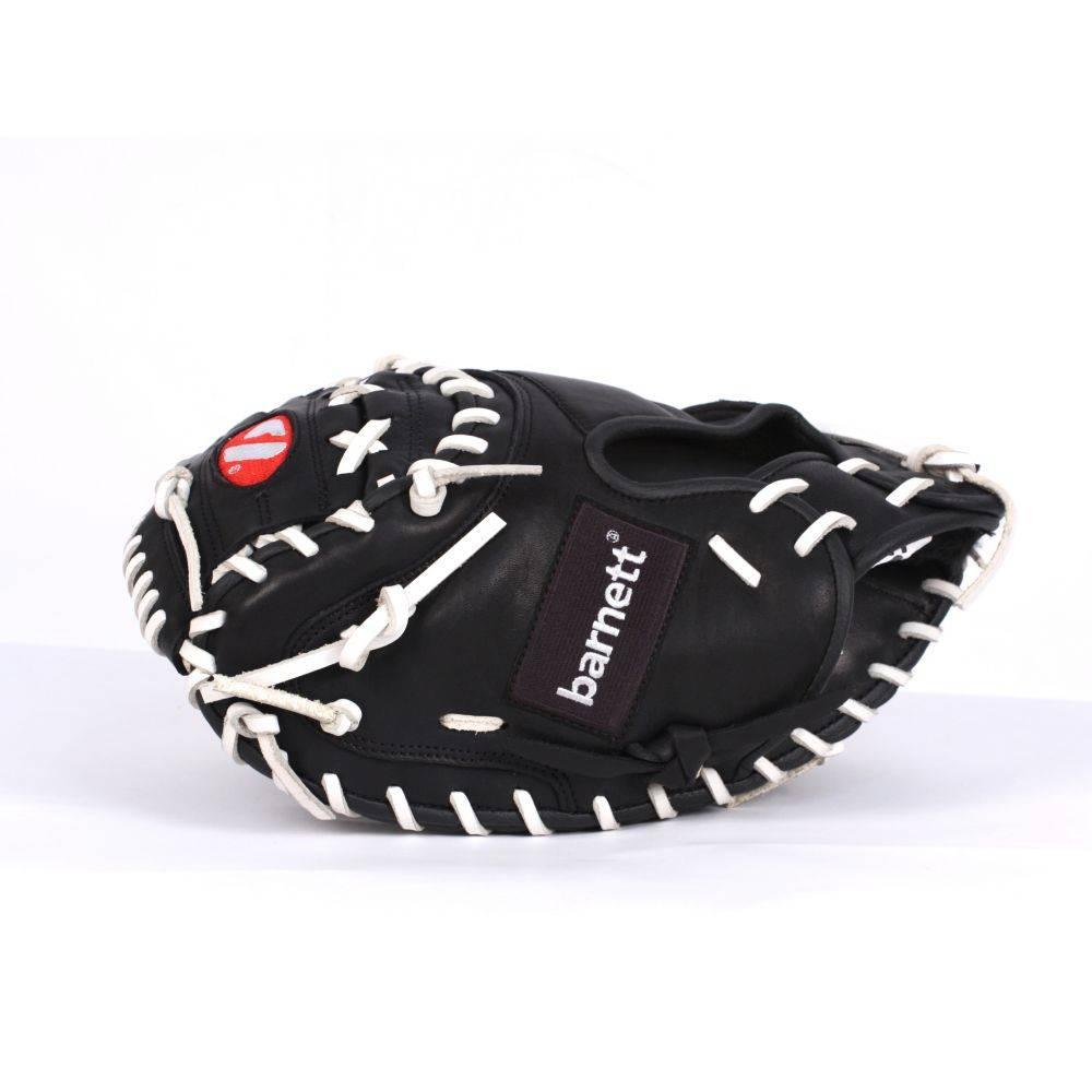 barnett GL-203 Competition catcher baseball glove, genuine leather, adult 34'', Black
