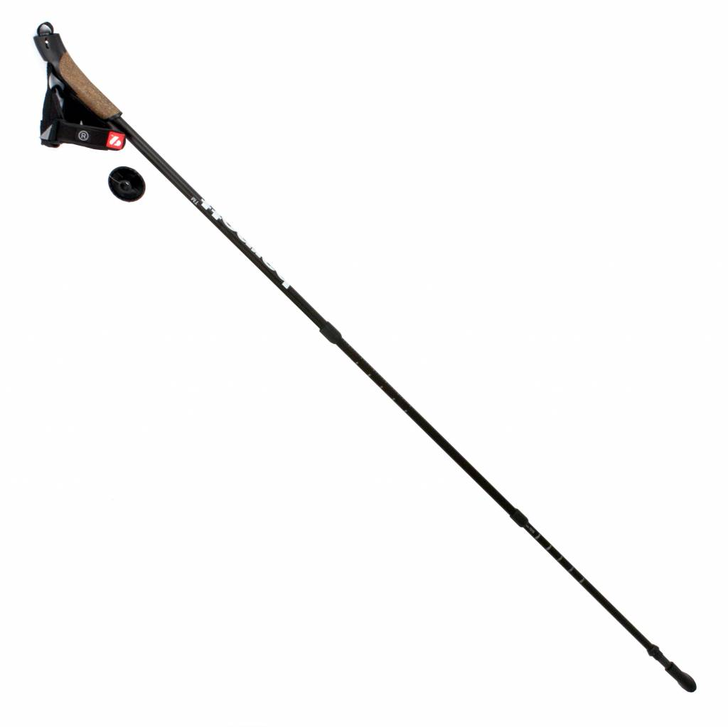 barnett NWC-3 Carbon nordic walking poles, 3 sections