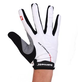 barnett BG-01 Long bike gloves: Light, isolating, high-performance, White