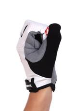 barnett BG-01 Long bike gloves: Light, isolating, high-performance, White