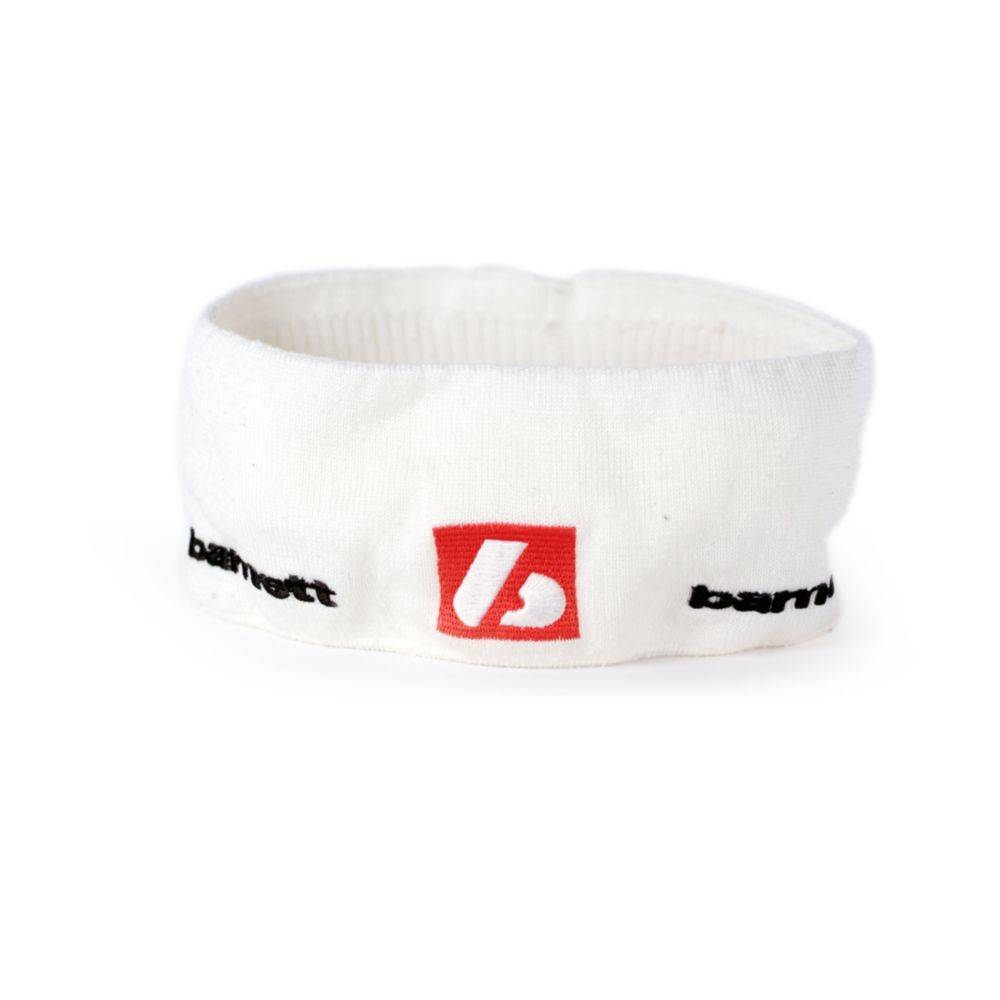 M2 Warm winter sport headband, White