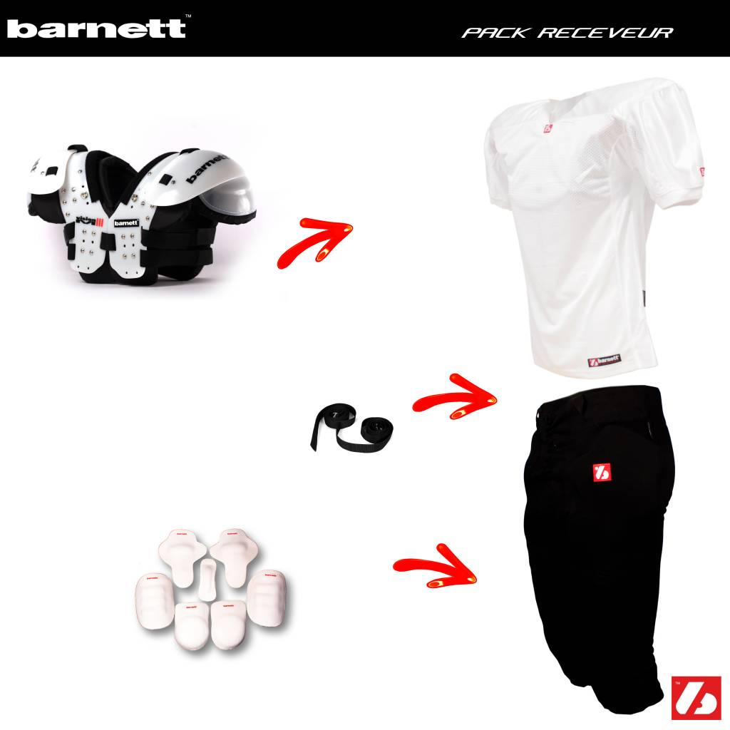 barnett Receiver football package (Vision I + FJ-2 + FP-2 + FHP-01 + FKP-01+ FTP-01 + FS-01 + CMS-01)