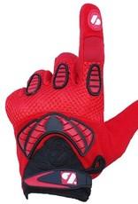 barnett FRG-02 New generation receiver football gloves, red