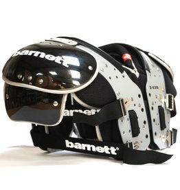 barnett Z-430 II Elite Football shoulder pads RB–DB-TE