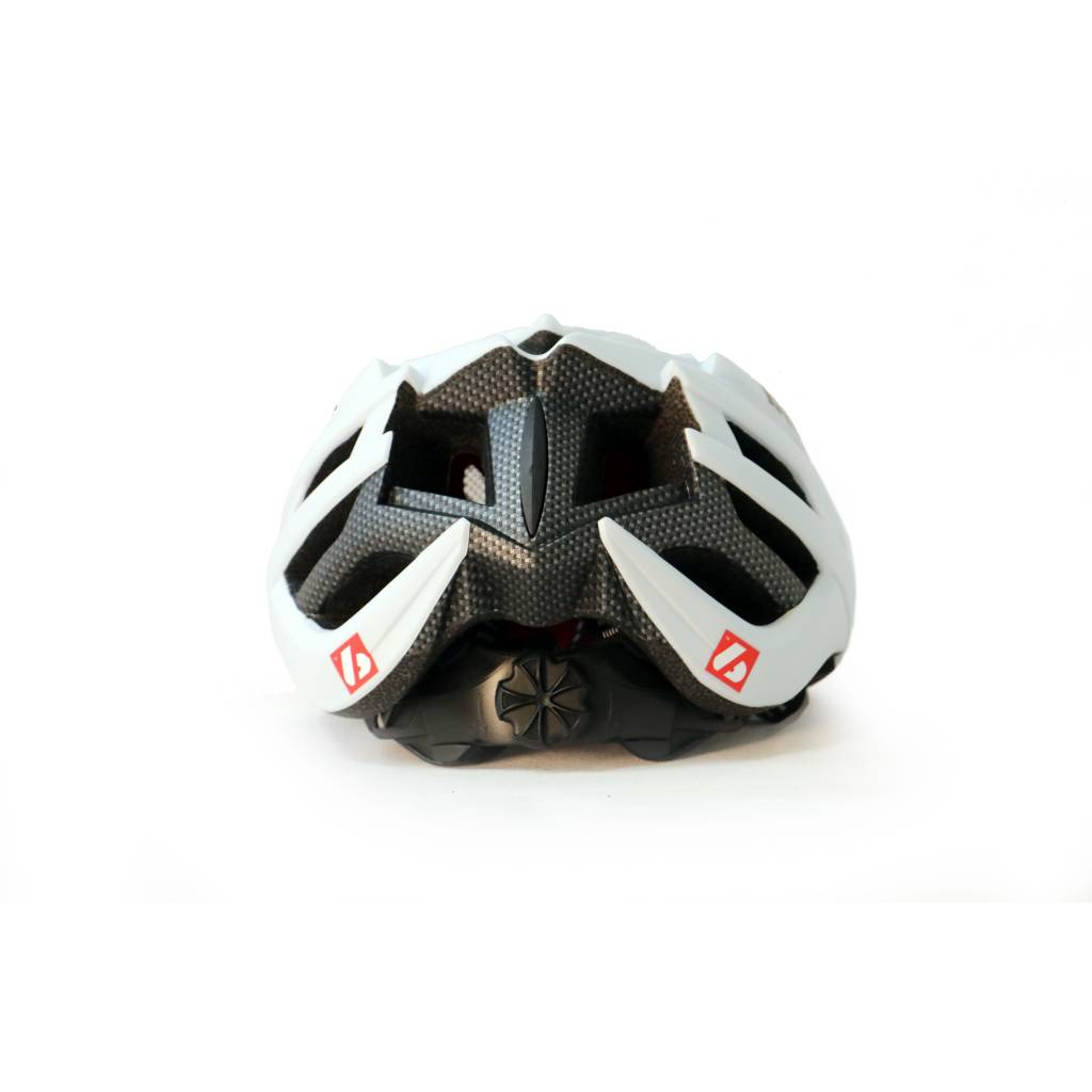barnett B3-27A Helmet, Bike and Roller ski, White