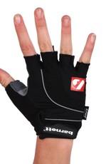 BG-04 fingerless bike gloves for competitions, black