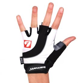 barnett BG-04 fingerless bike gloves for competitions, white