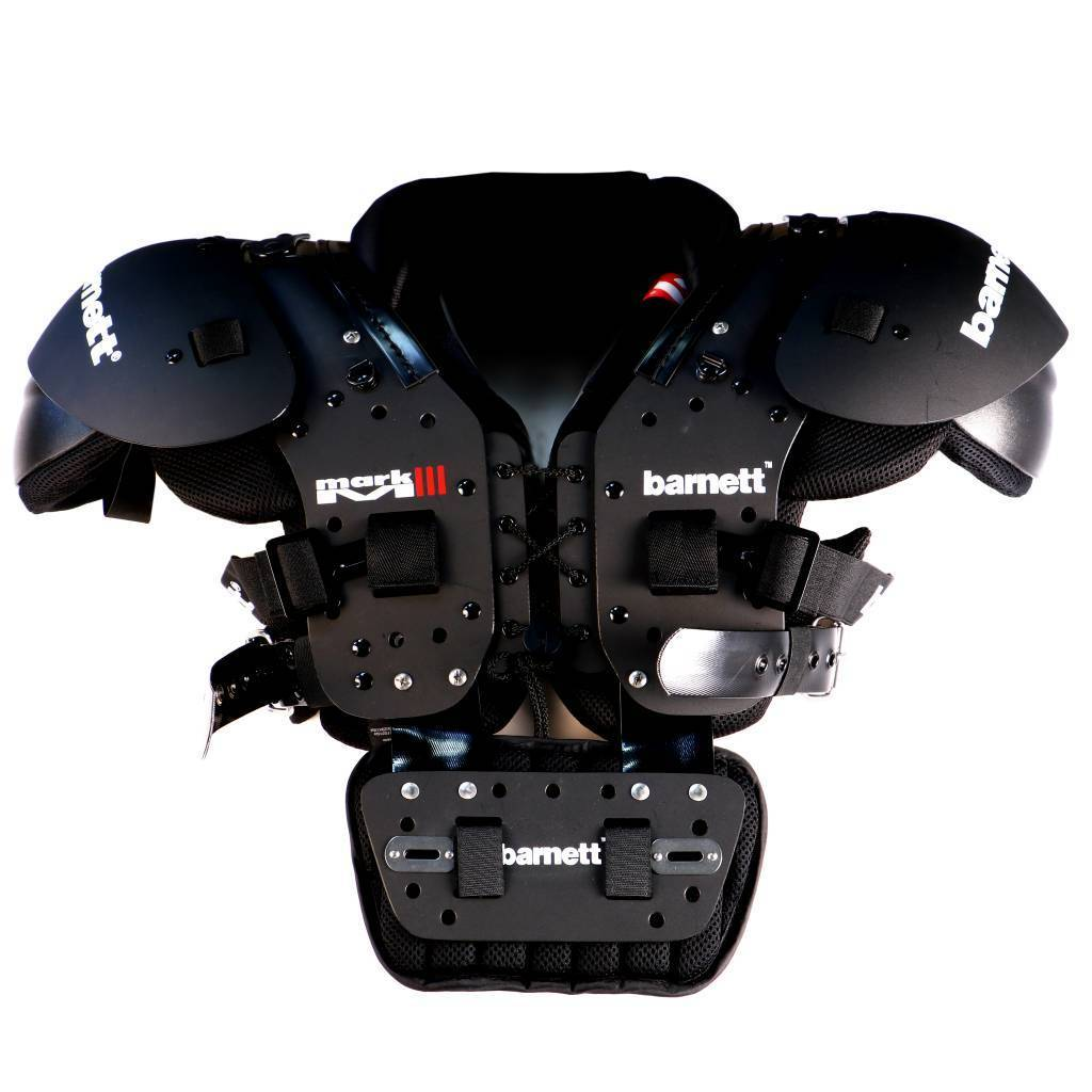 F-01 Sternum plate for shoulder pads