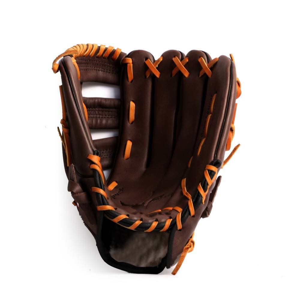 """GL-130 Competition baseball glove, genuine leather, outfield 13"""", Brown"""