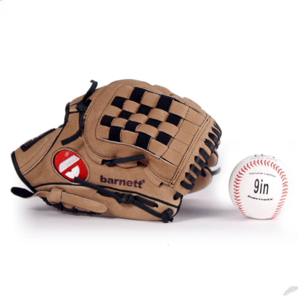 "barnett GBSL-3 Baseball set, Leather 11"" Glove & ball (SL-110, LL-1)"