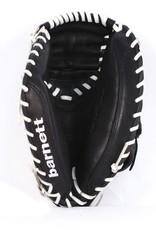 barnett GL-202 Competition catcher baseball glove, genuine leather, adult 34'', Black