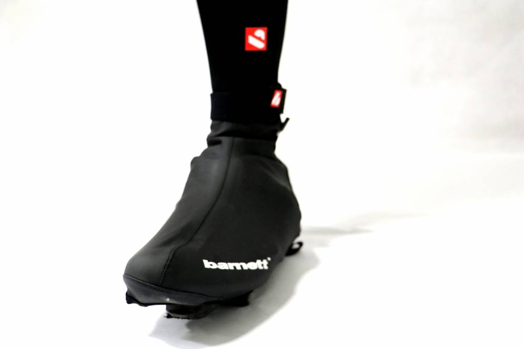 BSP-05 Cycling overshoes, Warm and water-repellent, Black