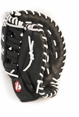 "GL-301 Competition first base baseball glove, genuine leather, size 31"", black"