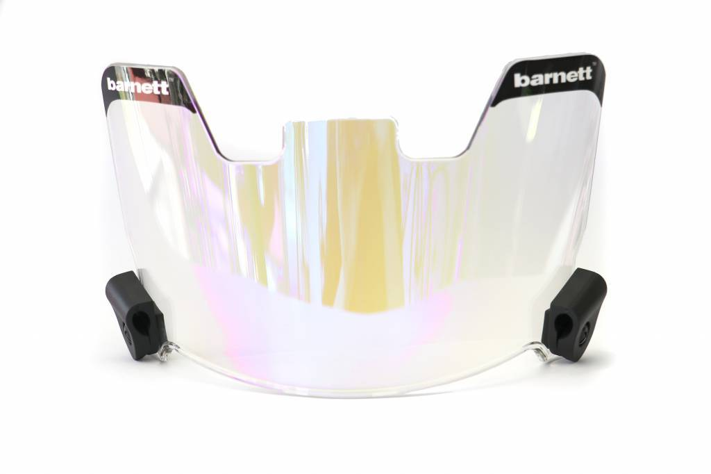 Barnett Football Eyeshield / Visor, revo blue, eyes-shield