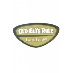 Old Guys Rule Fridge Magnet – Legends Badge