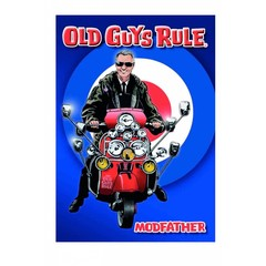 Old Guys Rule Card - Modfather