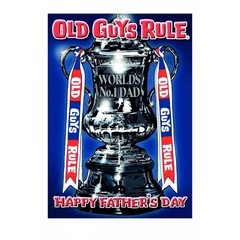 Old Guys Rule Card - Father's Day Card