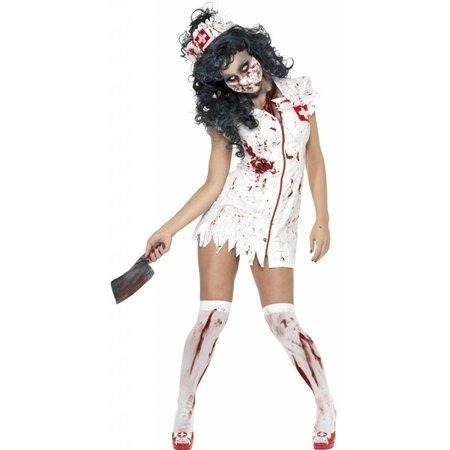 Zombie zuster halloween kostuum