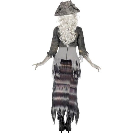 Zombie Piratenvrouw outfit