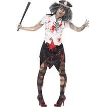 Zombie Politieagente outfit