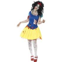 Zombie Sneeuwwitje kostuum
