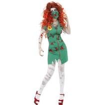 Zombie verpleegster scrub
